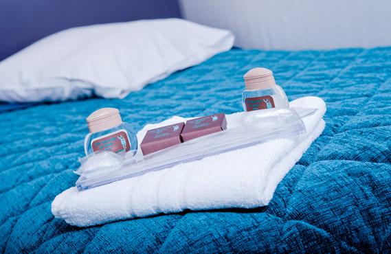 Produits de soins détente inclus dans votre séjour