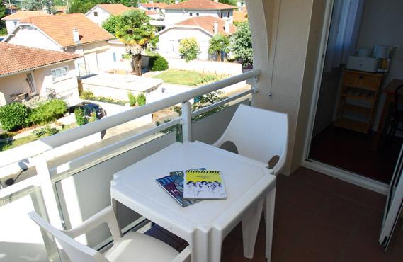 Terrasses et balcons des appartements