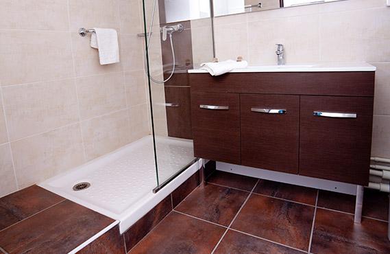 Salle de bain dans les Demeures de Borda 2